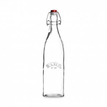 Бутылка квадратная для масла и уксуса, объем: 1 л, материал: стекло, серия