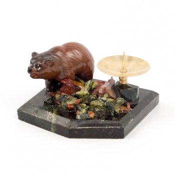 Подсвечник медвежонок
