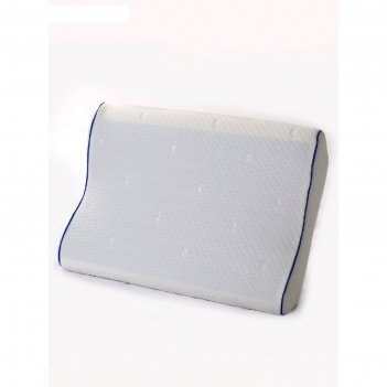 Подушка «эргономика маленькая перфорация», размер 50x30x8/11 см