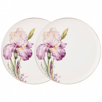 Набор тарелок закусочных lefard iris 2 шт. 20,5 см
