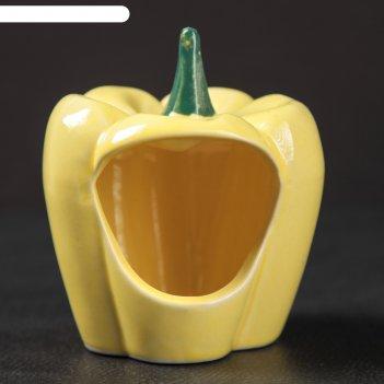 Кормушка для хомячков перец цвет желтый