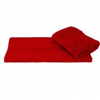 Полотенце rainbow, размер 30 x 50 см, красный