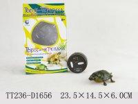 В72382, робот черепаха на ду, свет, движение 23,5х4,5х6см