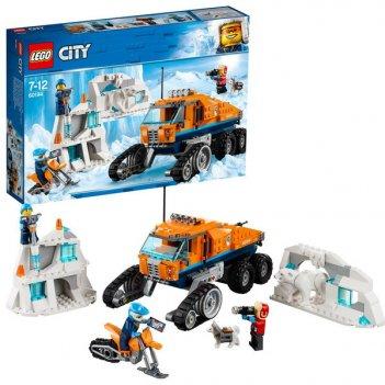 Конструктор lego city грузовик ледовой разведки