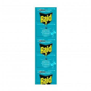 Raid пластины от комаров эвкалипт 10 шт