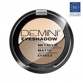 Тени для век demini metallic matte effect eye shadow, тон 805