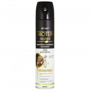 Лак для волос bitэкс protein repair, сильная фиксация, 300 мл