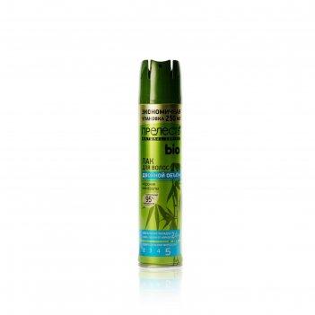 Лак для волос прелесть био с морскими минералами, сверхсильная фиксация, 2