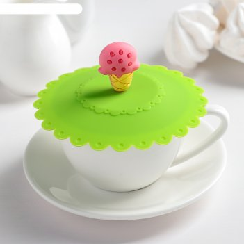 Крышка-непроливайка мороженое 11 см