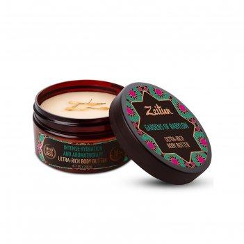 Увлажняющее крем-масло для тела zeitun сады семирамиды, 200 мл