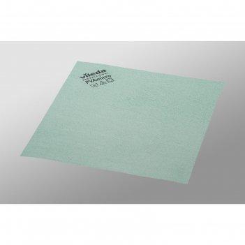 Салфетка для профессиональной уборки pva micro 38х35 см, цвет зеленый