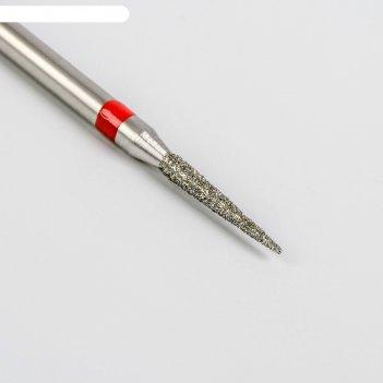 Фреза алмазная для аппаратного маникюра «игла», мелкая зернистость, 1,4 x