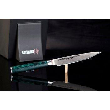 Нож поварской японский стейковый samura микарта mo-v sm-0031