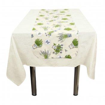 Дорожка на стол «лаванда», размер 40 x 140 см