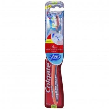 Зубная щётка colgate 360 interdental «межзубная чистка»