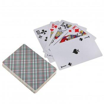 Карты игральные бумажные дама, 36 карт в колоде