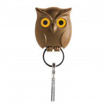 Держатель для ключей night owl, коричневый