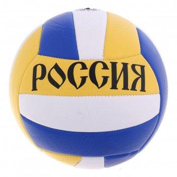 Мяч волейбольный россия размер 5, 18 панелей