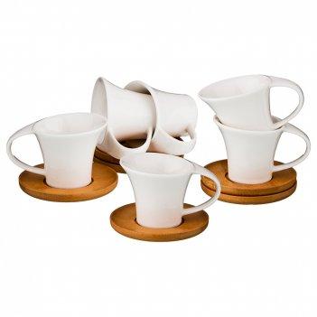 Кофейный набор на 6 персон 12пр. 120 мл (кор=12наб.)
