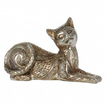 Фигурка декоративная кошка, l20 w8 h12 см