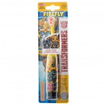 Зубная щётка transformers tr-6, вибрационная, мягкая щетина, 1хаа (в компл