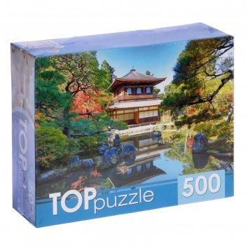 Пазл 500 эл. красивая пагода кбтп500-6808