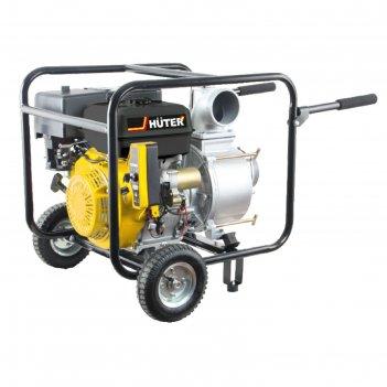 Мотопомпа бензиновая huter mpd-100 70/11/6, для грязной воды, 1080 л/мин,