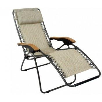 Кресло - шезлонг canadian camper (подлокотники - пластик)