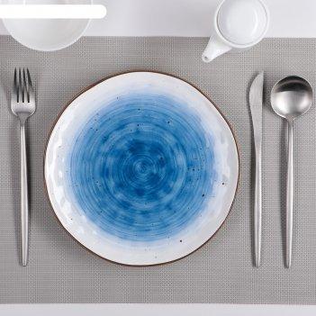 Тарелка 21,8 см нептун