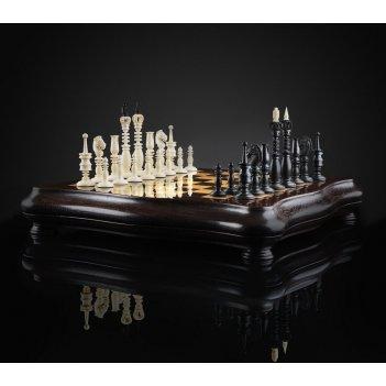 Шахматы калверт из бивня мамонта kadun