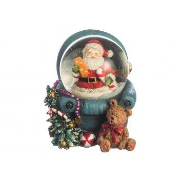 Фигурка новогодний шар диаметр=3.5 см.5*6*5 см.