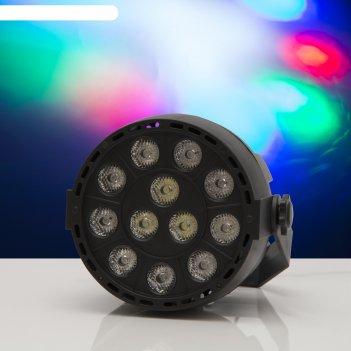 Прожектор для сцены 30 вт,220v, 30 град, dmx упр, rgbw