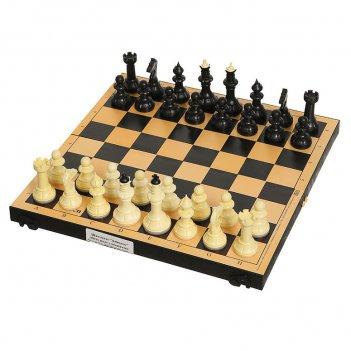 Шахматы + шашки айвенго малые 30х30см