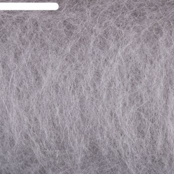 Шерсть для валяния кардочес 100% полутонкая шерсть 100гр (168 сер.св.)
