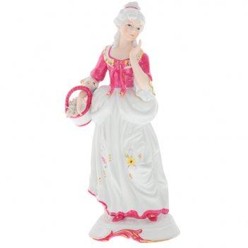 Фигурка декоративная девушка, h 33см