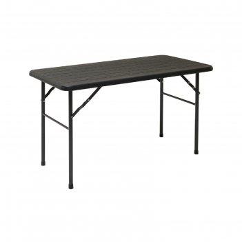 Стол складной gogarden pula, 120x60x74 см, пластик/сталь