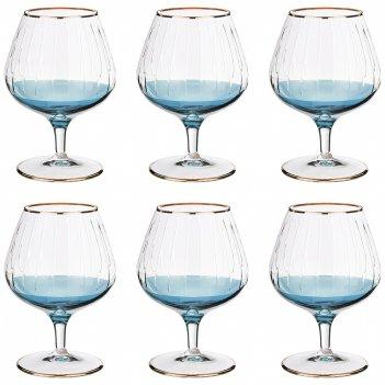 Набор бокалов для коньяка из 6 шт. 350 мл. высота=...