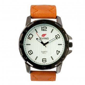 Часы наручные мужские evans d=4.5 см, микс