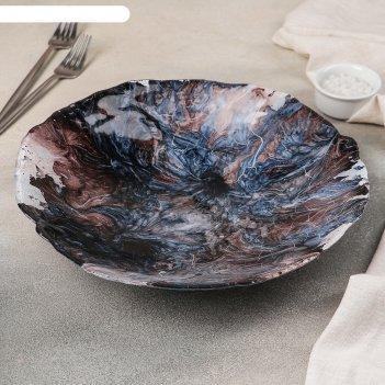 Блюдо сервировочное «сальвадор эбру», 30 см