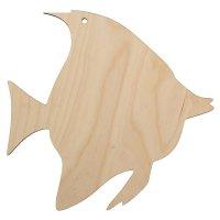 Декоративная разделочная доска рыбка 25,8х25,2 см (80608)