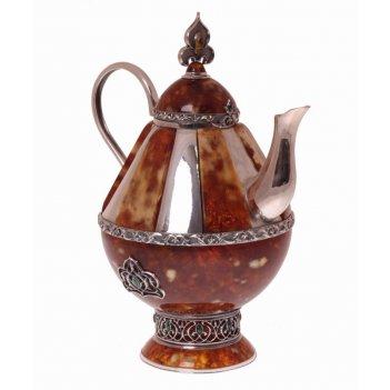 чайники из янтаря
