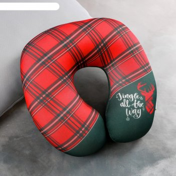 Подголовник антистресс «рождественский подарок»