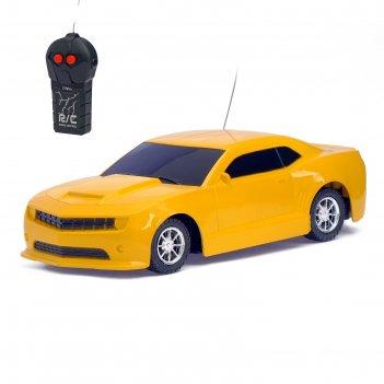 Машина радиоуправляемая «камаро», работает от батареек цвета микс
