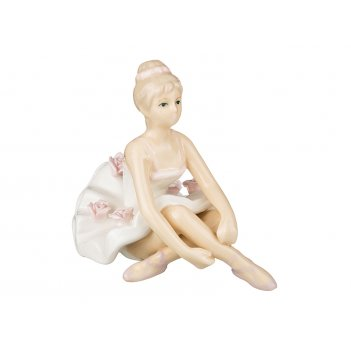 Фигурка балерина 9*9*6 см.