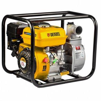 Мотопомпа бензиновая для чистой воды px-50, 7 л.с, 2, 600 л/мин, глубина 8