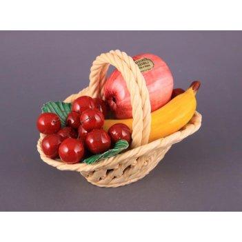 Изделие декоративное корзина с фруктами длина=20...
