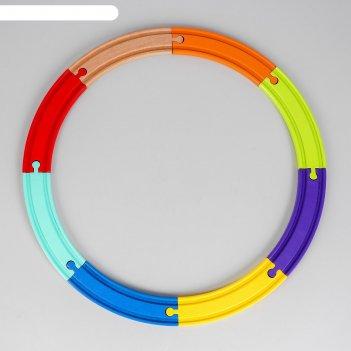 Рельсы 8 элементов 45x45x1,2 см