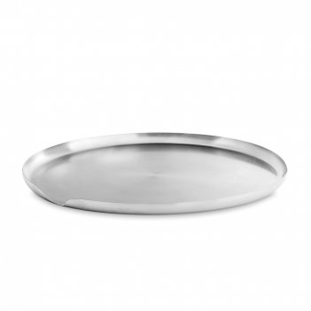 Поднос, диаметр: 40 см, материал: нержавеющая сталь, серия lucas, viva sca
