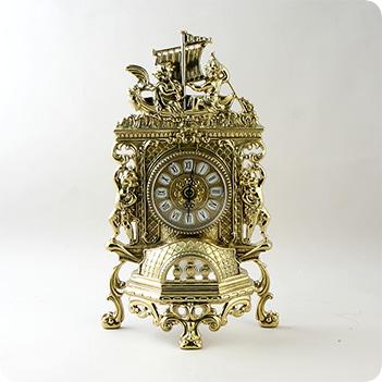 Часы корабль, (плоские)