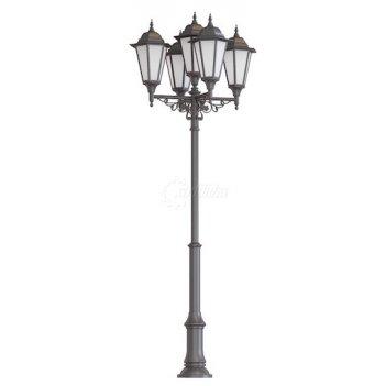 Фонарь уличный «пушкин - 5» со светильниками 4,117 м.